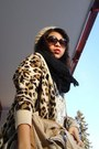 Thrifted-alpha-paca-hat-animal-print-gina-tricot-jacket-black-scarf-esprit-