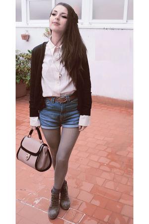 beige Zara boots