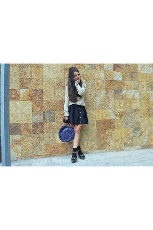 BLANCO bag - H&M skirt - Primark sandals