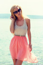 Bershka-dress-mohito-belt-stradivarius-sandals