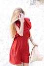 Brick-red-h-m-conscious-exclusive-dress-beige-h-m-studio-ss15-hat