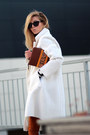 Ivory-romwe-coat-burnt-orange-jeans-burnt-orange-parfois-bag-black-blouse