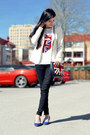 White-white-blazer-gina-tricot-blazer-red-h-m-t-shirt