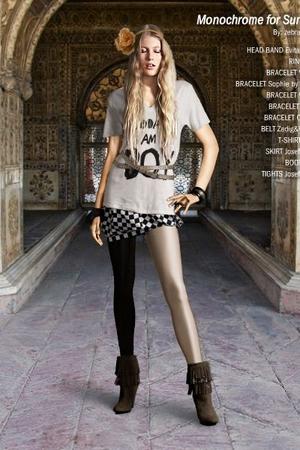 Zadig&Voltaire belt - Josefin Strid skirt - Zara boots