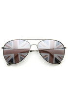 NOVELTY UNITED KINGDOM BRITAIN UK TEAM METAL AVIATOR SUNGLASSES 9457