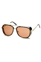 RETRO OVERSIZE EUROPEAN ROADSTER SHIELD DRIVING SUNGLASSES 9435
