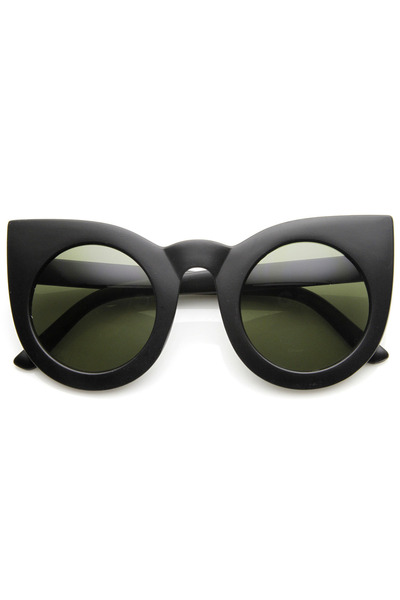 round cat eye zeroUV sunglasses