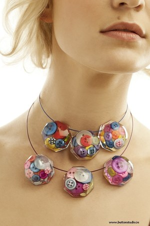 Button Studio necklace
