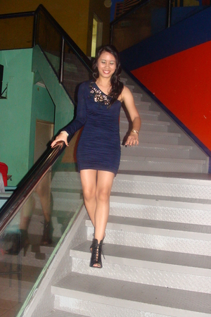 Forever 21 dress - Forever 21 shoes - Fossil accessories