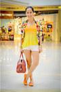 Bought-online-blazer-mango-shorts-h-m-top-yosi-samra-flats