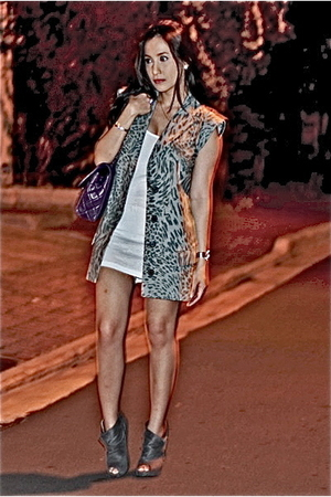 Topshop blazer - Loveculturemultiplycom dress - gojanecom boots