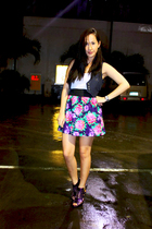 Mango vest - Forever 21 top - Poisonberry skirt - GoJane shoes
