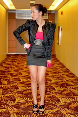 loveculturemultipycom blazer - Topshop top - skirt - random from Hong Kong shoes