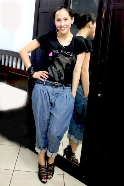 bazaar find shirt - random from Hong Kong pants - Bakers shoes