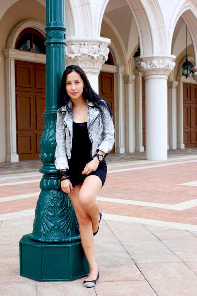 Zara jacket - dress - random from Hong Kong shoes