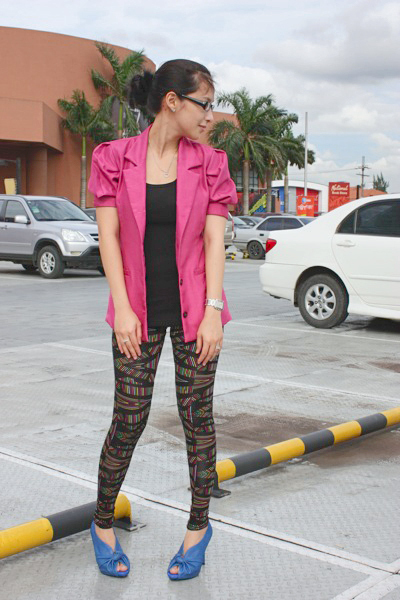 Loveculturemultiplycom blazer - Forever 21 leggings - GoJane shoes