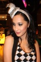 Loveculturemultiplycom top - marossa hat - random from Hong Kong vest - Topshop