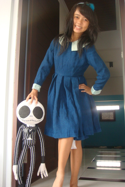 blue unknown brand dress