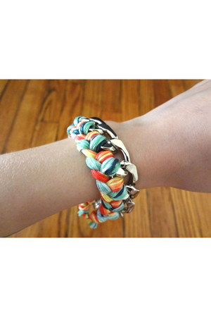 light blue CB Designs NYC bracelet