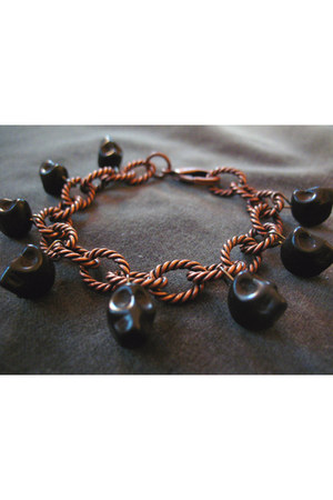 bronze CB Designs NYC bracelet