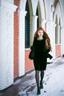 Black-leather-lanneret-boots-teal-velvet-zarina-dress-black-zarina-jacket