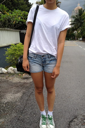 Kmart shirt - Zara bag - Converse sneakers - Sportsgirl ring