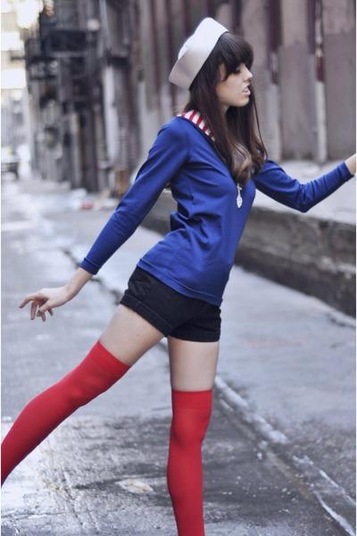 blue sweater vintage jumper