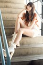 White-heeled-deandri-boots-ivory-frilly-socks-99-store-socks
