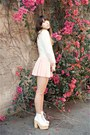 White-deandri-boots-light-pink-banggoodcom-dress